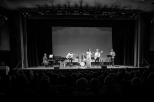 USA Tour Juliana Areias Bossa Nova Baby Bickford Theatre NJ Black White public Oriente Lopez Samuel Martinelle Wesley Amorim Itaiguara Brandao Jorge Continentino