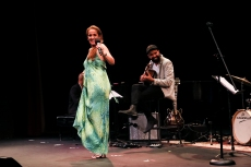 Juliana Areias USA tour - Concert at Bickford Theatre, Morristown, NJ, USA
