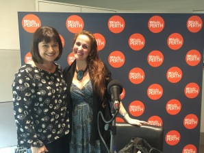 ABC Radio Perth Focus with with Nadia Mitsopoulos and Juliana Areias Bossa Nova Baby CD