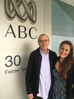ABC Radio Perth, Australia Juliana Areias and Ray Walker