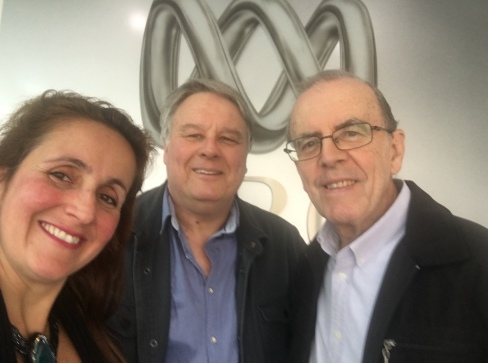 ABC Radio Perth Juliana Areias, Paul Millard and Ray Walker