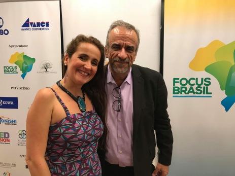 Juliana Areias - Japan Tour Tokyo and Nagoya 2018 - Brazilian Embassy in Tokyo - Focus Brazil Japao - Juliana Areias and Carlos Borges