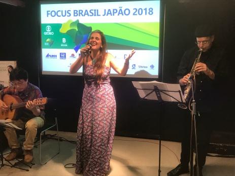 Japan Juliana Areias Bossa Nova Baby Brazilian Embassy Tokyo Focus Brasil Japao Andy Bevan Hiroshi Nakanuma