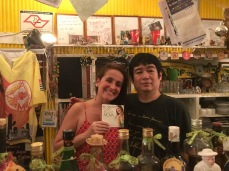 Juliana Areias - Japan Tour Tokyo and Nagoya 2018 - Juliana Areias and Willie at Aparecida Bar Tokyo