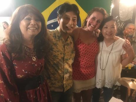 Juliana Areias - Japan Tour Tokyo and Nagoya 2018 - Sueli Gushi at Aparecida Bar Tokyo