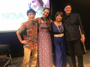 Juliana Areias - Japan Tour Tokyo and Nagoya 2018 - Brazilian Embassy in Tokyo