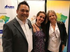 Juliana Areias - Japan Tour Tokyo and Nagoya 2018 - Brazilian Embassy in Tokyo - Mario Makuda, Juliana Areias and Andrea Vianna