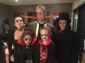 Halloween 2016 Sweet Vampire Family