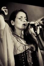 Juliana Areias Nocturnus - Halloween show at Khucha 2013