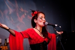 Juliana Areias Geoffrey Drake-Brockman -106 Nocturnus show Steampunk Halloween