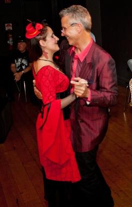 Juliana Areias Geoffrey Drake-Brockman -111 b Nocturnus show Steampunk Halloween