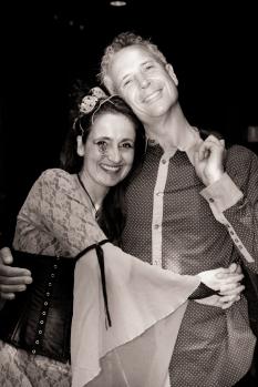 Juliana Areias Geoffrey Drake-Brockman -133 Nocturnus show Steampunk Halloween