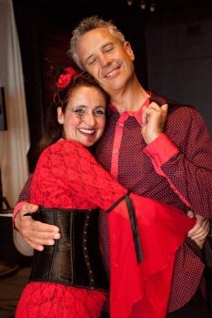 Juliana Areias Geoffrey Drake-Brockman -134 Nocturnus show Steampunk Halloween