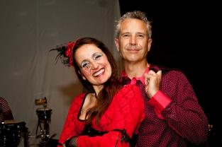 Juliana Areias Geoffrey Drake-Brockman -135 Nocturnus show Steampunk Halloween