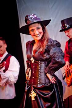 Juliana Areias Nocturnus Steampunk singing 7 2013
