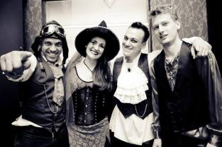 Steampunk Juliana Areias Marcio Mendes Gus Potenza Ashley de Neef Nocturnus Halloween 2013