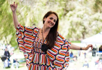 Juliana Areias at Kings Park Festival - Perth by Dani Mendes