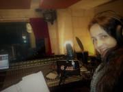 Juliana Areias Bossa Nova Baby CD recording 2014 Crank studio Perth Australia