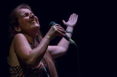 Juliana Areias by Linda Dunjey - Music Magazine com au WAMFest Laneway Lounge Latin Jazz Band hire