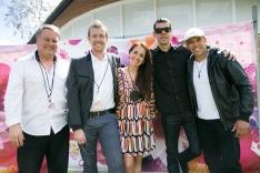 Juliana Areias - Kings Park Festival Paul Millard Graham Wood Chris Tarr Marcio Mendes 2014-157
