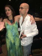 Juliana Areias and Vainer Dias Gomes Sao Paulo