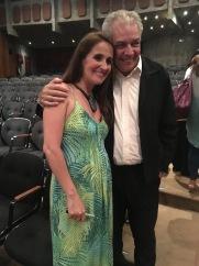 Juliana Areias and Luiz Gustavo Alves in Sao Paulo