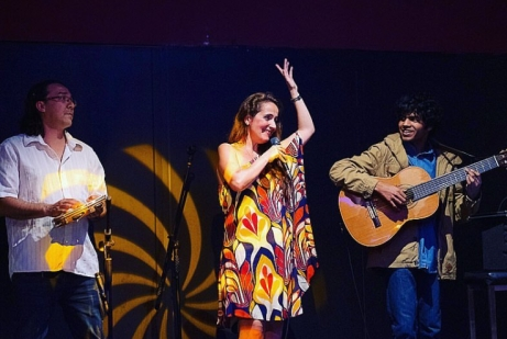 WamFest Canon Ball The Court Juliana Areias Trio by Adrian Thomson Joshua de Silva e Rafael Medeiros 1