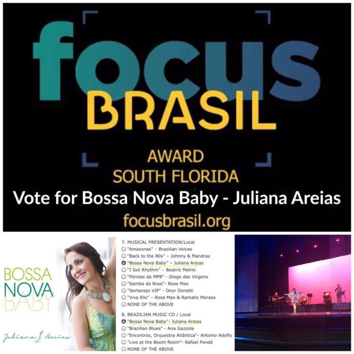 Bossa Nova Baby Juliana Areias celebrates her double