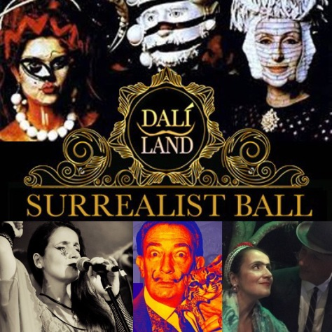 Juliana Areias opens The Surrealist Ball - Dali Land - Fringe World Festival