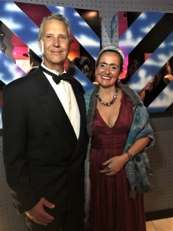 Juliana Areias at Surrealist Ball - Dali Land - Frindge Festival 2019 - Geoffrey Drake-Brockman and Juliana Areias - Frida Kahlo