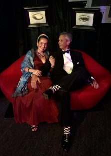 Juliana Areias at Surrealist Ball - Dali Land - Frindge Festival 2019 - Juliana Areias - Frida Kahlo and Geoffrey Drake-Brockman