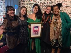 WAM Awards 2019 Juliana Areias Tara Tiba Kate Pass Grace Barbe and Randa Khamis