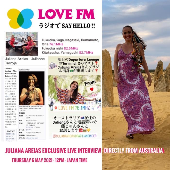Art Love Radio Japan Juliana Areias ジュリアナ アレイアス