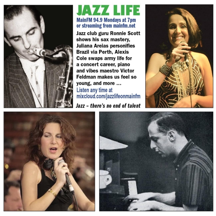 Melbourne Jazz Life MainFM 94.9 - Hen Turnbull Mon 7pm 17 April 2021 Juliana Areias