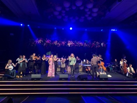 Perth Symphony Orchestra with Juliana Areias, Steve Hersby and Spirit Ensemble at 2021 Western Australian of the Year Awards
