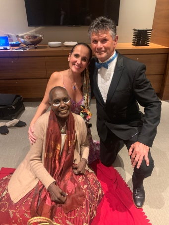 Lois Olney, Juliana Areias and Richard Walley at 2021 Western Australian of The Year Awards