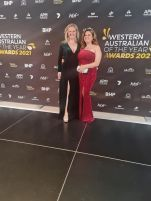 Bourby Webster and Karla Hart winners of Western Australian of The Year Awards in 2021 and 2021