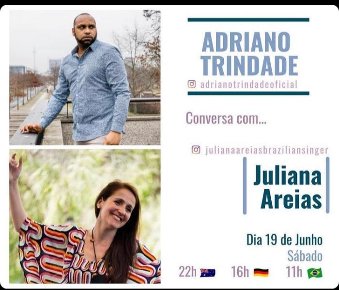 Live Adriano Trindade Berlin Juliana Areias Australia Instagram