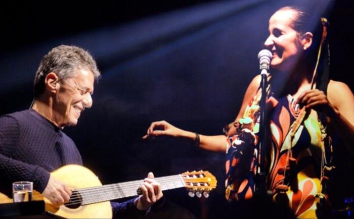 Chico Buarque e Juliana Areias photo ok resolution